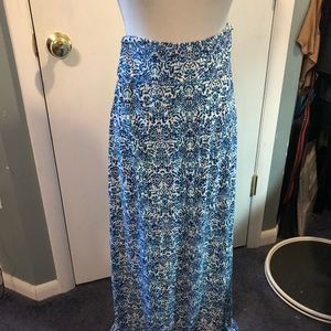 Cynthia Rowley maxi skirt size small